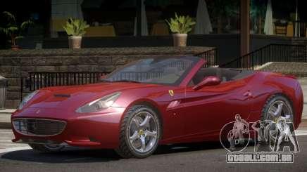 Ferrari California Roadster V1 para GTA 4