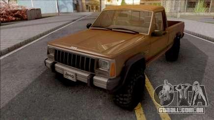 Jeep Comanche v2 para GTA San Andreas