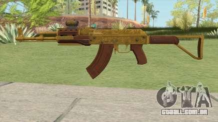 Assault Rifle GTA V Scope (Default Clip) para GTA San Andreas