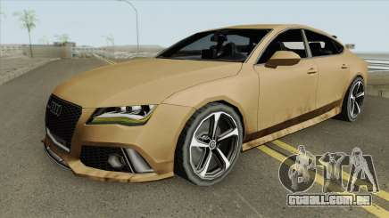Audi RS7 2014 (Black Interior) para GTA San Andreas