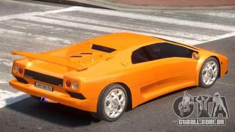 Lamborghini Diablo ST para GTA 4