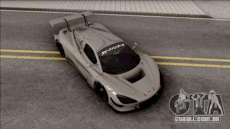 McLaren 720S GT3 2019 para GTA San Andreas