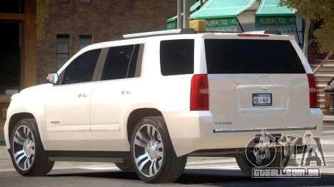 Chevrolet Tahoe Elite para GTA 4