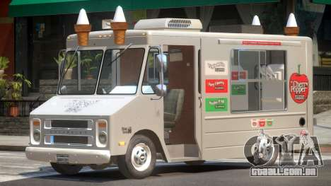 1985 Chevrolet Step Van Ice Cream para GTA 4