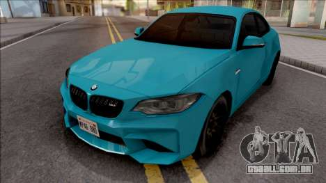 BMW M2 Competition 2018 SA Style para GTA San Andreas