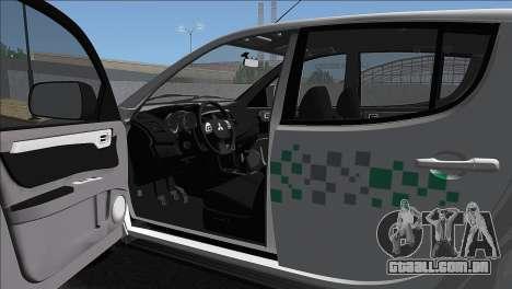 Mitsubishi L-200 Triton HPE 2015 para GTA San Andreas