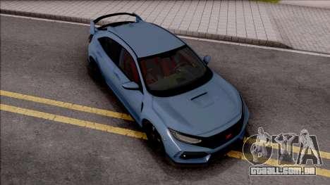 Honda Civic Type R 2017 HQLM para GTA San Andreas