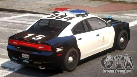 Dodge Charger Patrol V1.0 para GTA 4