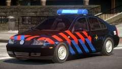 Volkswagen Bora Police V1.0 para GTA 4