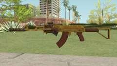 Assault Rifle GTA V (Three Attachments V5) para GTA San Andreas