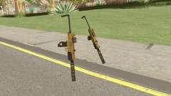Micro SMG (Luxury Finish) GTA V Two Upgrades V7 para GTA San Andreas
