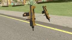 Micro SMG (Luxury Finish) GTA V Base V1 para GTA San Andreas