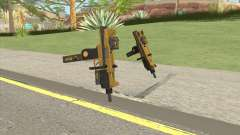 Micro SMG (Luxury Finish) GTA V Two Upgrades V2 para GTA San Andreas
