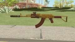 Assault Rifle GTA V (Two Attachments V12)