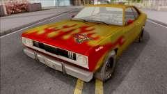 Plymouth Duster 340 Snake Hot Wheels para GTA San Andreas