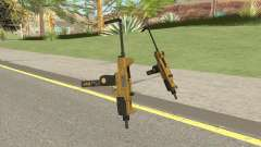 Micro SMG (Luxury Finish) GTA V Base V4 para GTA San Andreas
