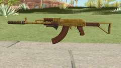 Assault Rifle GTA V (Two Attachments V8) para GTA San Andreas