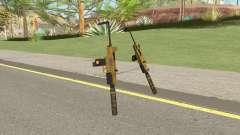 Micro SMG (Luxury Finish) GTA V Suppressor V3 para GTA San Andreas