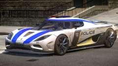 Koenigsegg Agera Police V1.3 para GTA 4