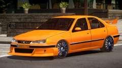 Peugeot 406 Taxi V1.0 para GTA 4