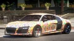 Audi R8 GTS V1.0 PJ5 para GTA 4