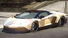 Lamborghini Aventador STR PJ2 para GTA 4