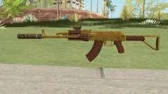 Assault Rifle GTA V (Three Attachments V11) para GTA San Andreas