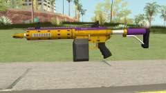 Carbine Rifle GTA V (Mamba Mentality) Base V1 para GTA San Andreas