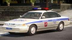 Ford Crown Victoria Police V1.0 para GTA 4
