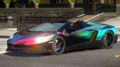 Lamborghini Aventador STR PJ5 para GTA 4