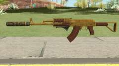 Assault Rifle GTA V (Two Attachments V7) para GTA San Andreas
