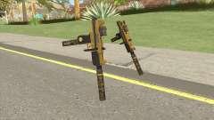 Micro SMG (Luxury Finish) GTA V Two Upgrades V4 para GTA San Andreas