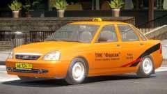 Lada Priora Taxi V1.0 para GTA 4