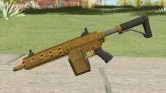 Carbine Rifle GTA V (Luxury Finish) Base V1 para GTA San Andreas