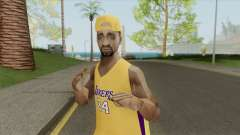 Los-Angeles Lakers Fan para GTA San Andreas