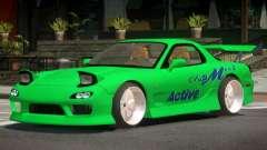 Mazda RX-7 GTS para GTA 4