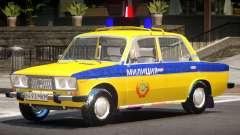 VAZ 2106 Police para GTA 4