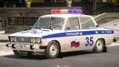 VAZ 2106 Police V1.1 para GTA 4