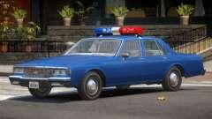 1985 Impala Police V1.0 para GTA 4