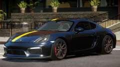 Porsche Cayman GT4 Black Edition para GTA 4