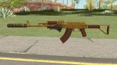 Assault Rifle GTA V (Three Attachments V3) para GTA San Andreas