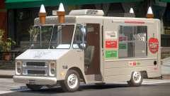1985 Chevrolet Step Van Ice Cream para GTA 4