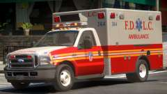 Ford F-350 Ambulance para GTA 4