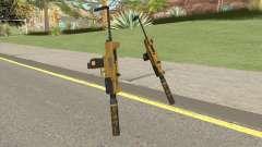 Micro SMG (Luxury Finish) GTA V Suppressor V4 para GTA San Andreas
