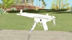 MP5 (White) para GTA San Andreas