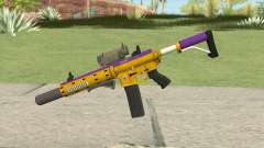 Carbine Rifle GTA V (Mamba Mentality) Full V2 para GTA San Andreas