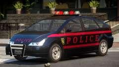 Karin Dilettante Police V1.0 para GTA 4