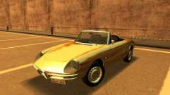 Alfa Romeo Spider-Duetto 160 1966