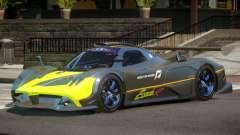 Pagani Zonda RS PJ4 para GTA 4