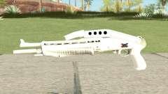Combat Shotgun (White) para GTA San Andreas